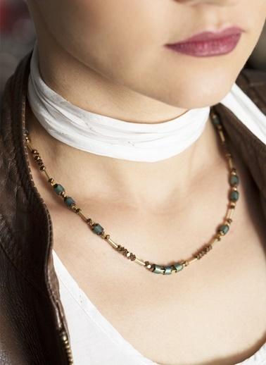 Amulette Jewel Kolye Yeşil